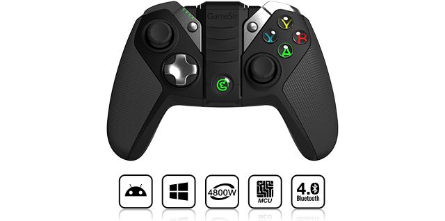 Tay cầm Gamesir G4s hỗ trợ nhiều hệ điều hành