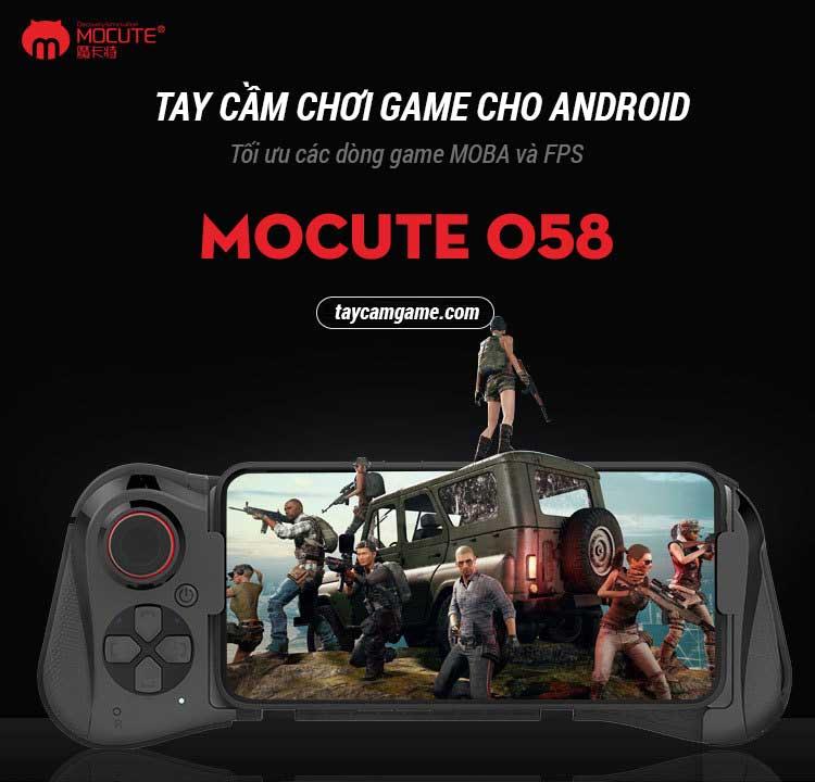 Tay cầm Mocute 058 chuyên các dòng game Moba và FPS trên điện thoại