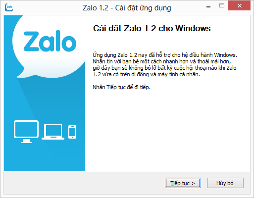 Tải cài đặt Zalo phiên bản mới nhất