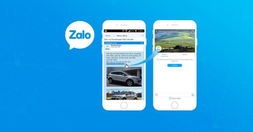 Cách tải Zalo cho điện thoại