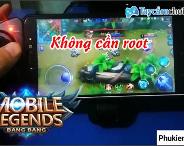 Chơi Mobile Legends bằng tay cầm chơi game
