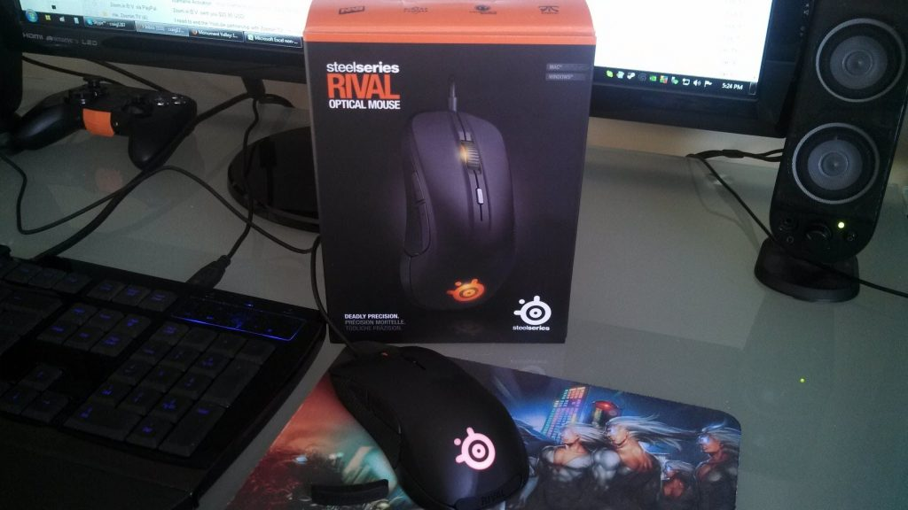 Chuột steelseries rival 300