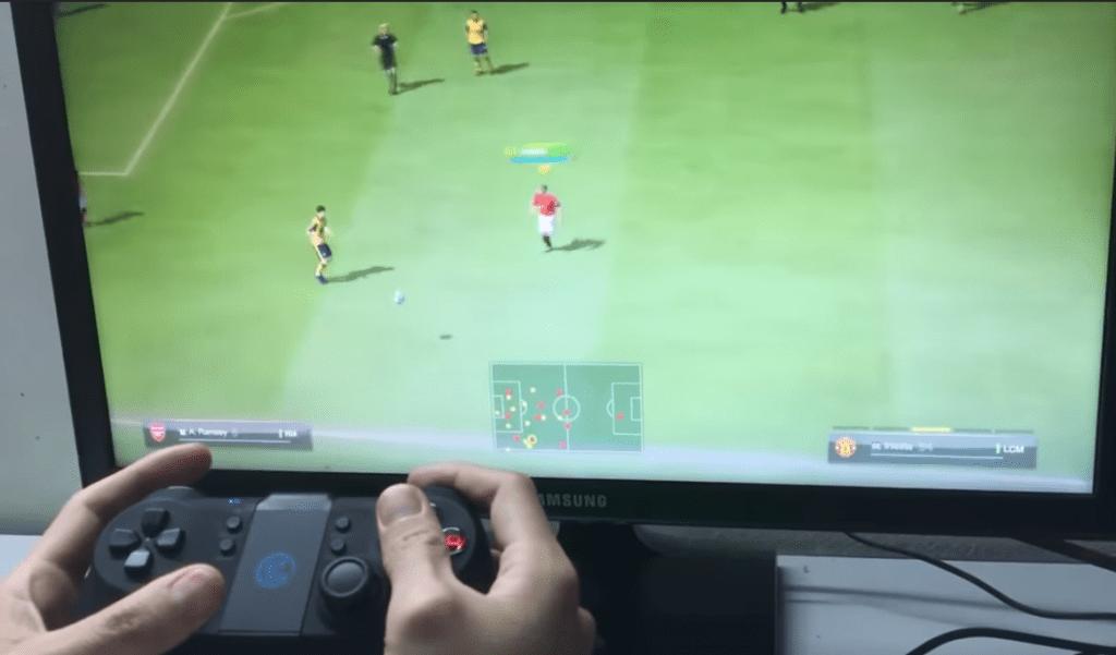 Đá Fifa Online bằng tay cầm không dây Gamesir T1s