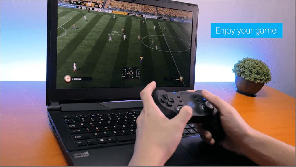 Tay cầm không dây Gamesir T1s - Hỗ trợ Bluetooth 4.0 và Wireless 2.4G