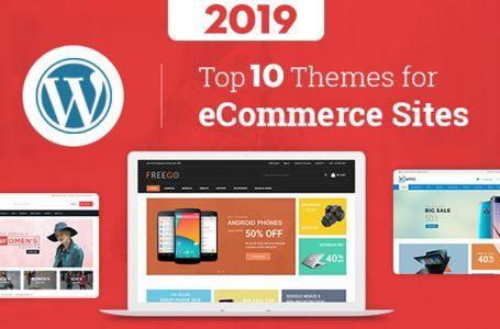 Top 10 Theme WordPress bán hàng tối ưu SEO tốt nhất 2019