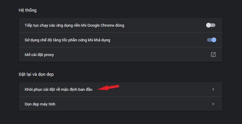 Sửa lỗi không vào được facebook trên Chrome
