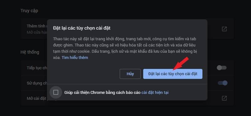Cách vào facebook khi Chrome bị lỗi