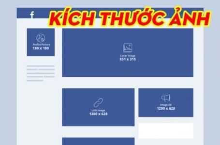 Kích thước ảnh facebook, ảnh Cover, Avatar, Profile, Link Ad, Image Ad