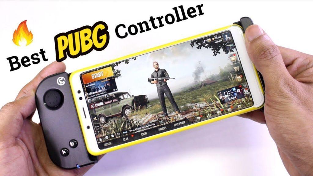 Tay cầm Gamesir T6 chơi PUBG Mobile
